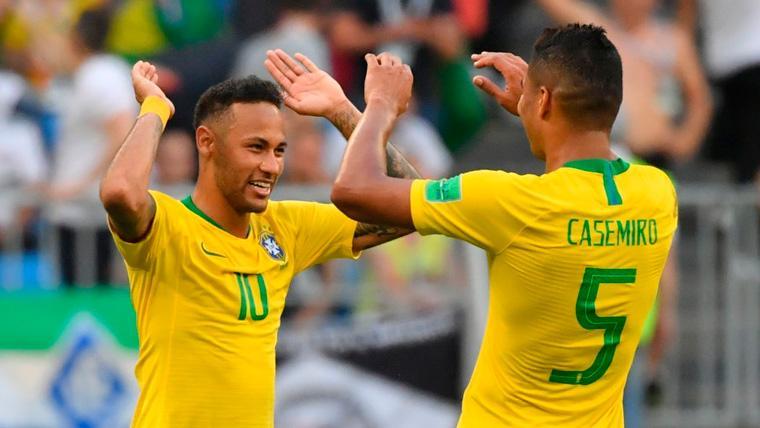 Casemiro abre la puerta del Real Madrid a Pogba y Hazard... ¿Y se la cierra a Neymar?
