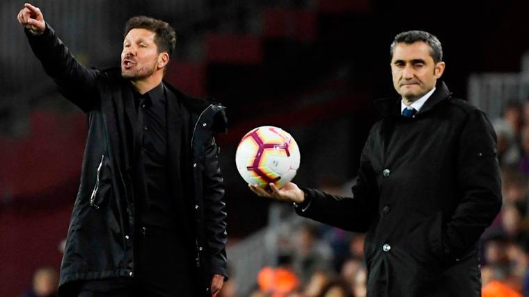 Valverde ya pisa el podio de entrenadores del Barça más líderes en LaLiga