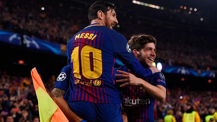 Messi will not play the Huesca-Barcelona and Sergi Roberto is lesionado