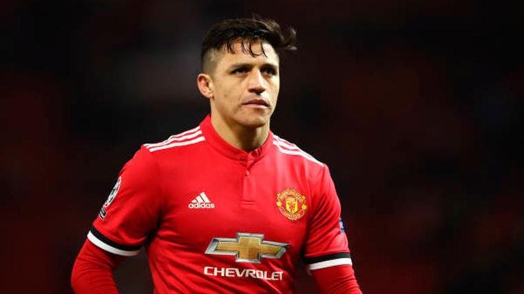 Alexis Sánchez, argumento ofensivo del United