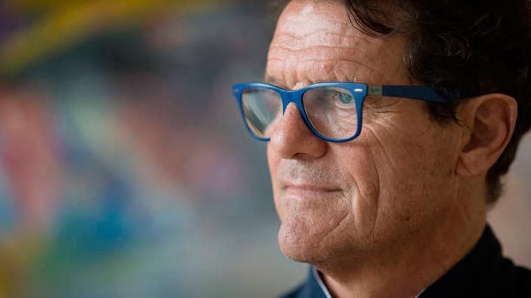 Fabio Capello, ex técnico madridista