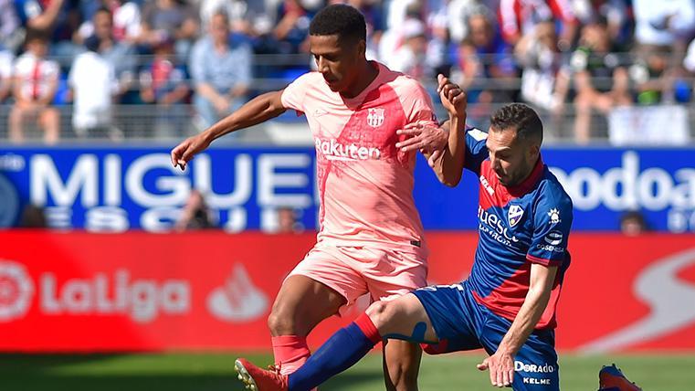Debut agridulce de Todibo con el Barça: Gran partido que no pudo acabar en victoria