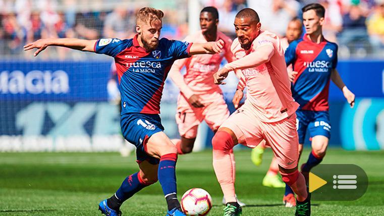 Vídeo resumen: Huesca 0 FC Barcelona 0 (LaLiga J32)