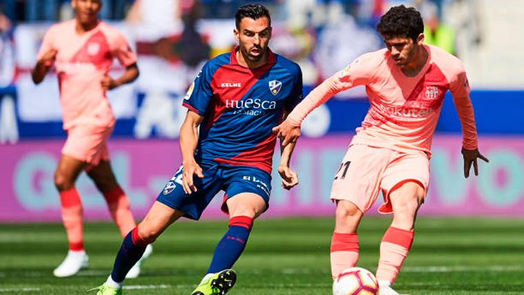 Aleñá, titular ante el Huesca
