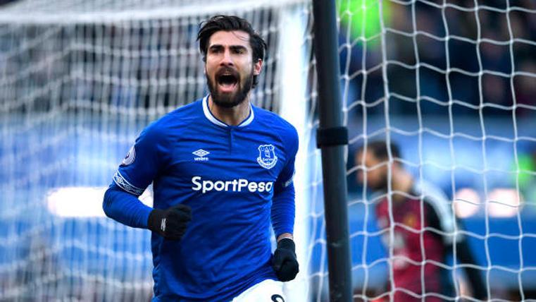 El Everton quiere a André Gomes en propiedad