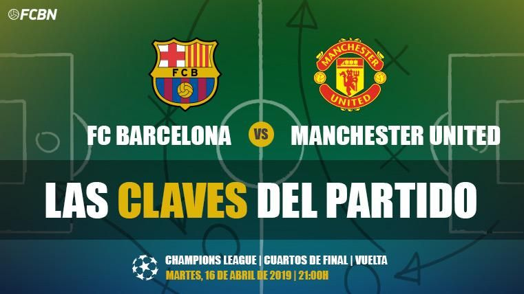 Claves del Barça-Manchester United
