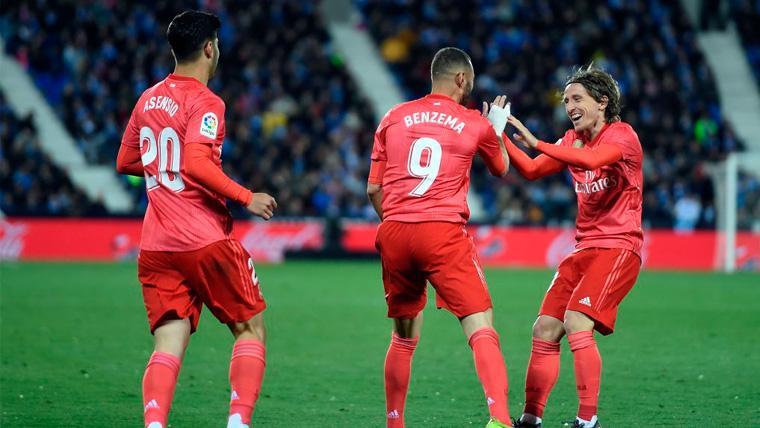 Benzema sostiene a un Madrid que volvió a ofrecer muy poco contra el Leganés (1-1)