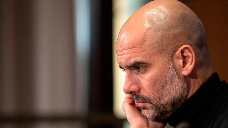 Guardiola vuelve a sorprender hablando de la Champions y sus objetivos en el City