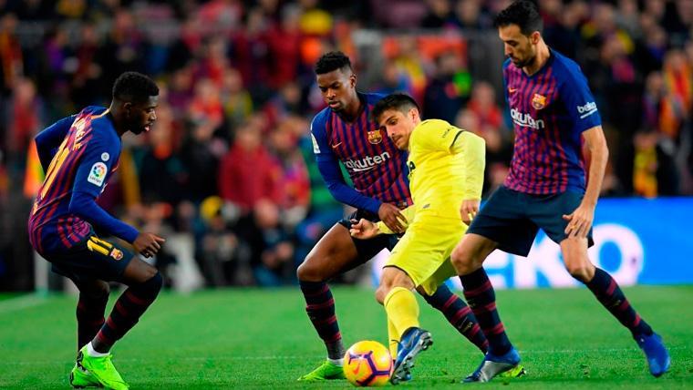 Los motivos de la suplencia de Semedo y Dembélé contra el Manchester United