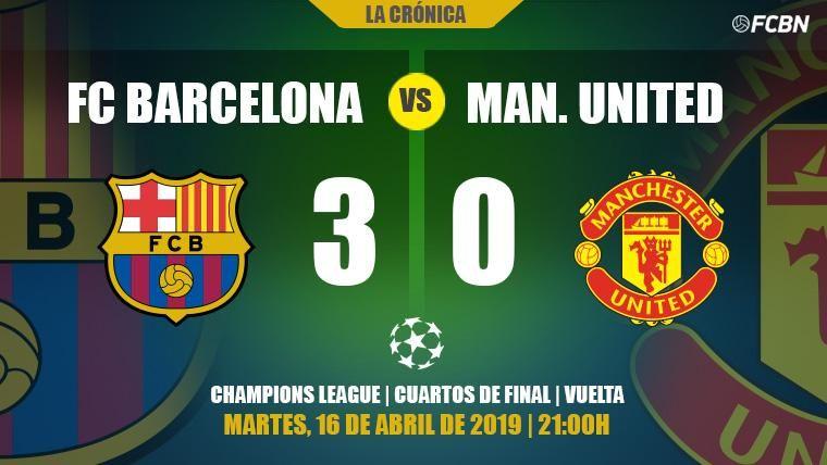 Leo Messi espanta los demonios y el Barça está en semifinales de Champions (3-0)