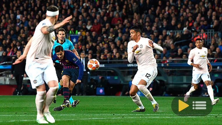 Vídeo resumen: FC Barcelona 3 Manchester United 0 (1/4 Champions League)