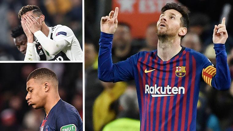 Sin Cristiano ni Mbappé en Champions, el Balón de Oro se acerca aún más a Messi