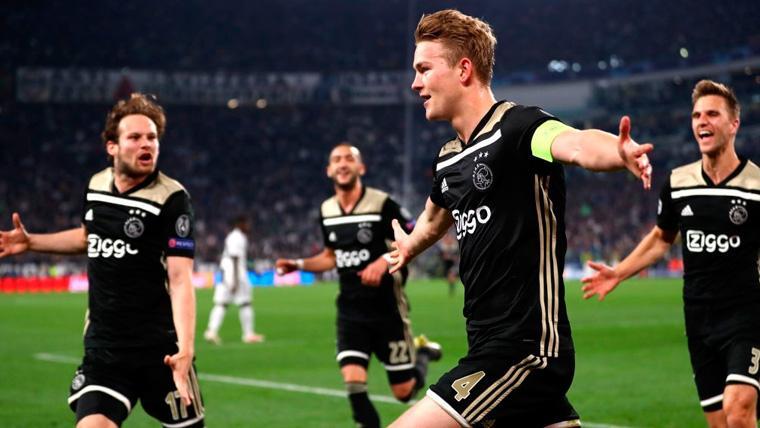 El Camp Nou celebró el gol de Matthijs de Ligt a la Juventus como si fuera del Barça