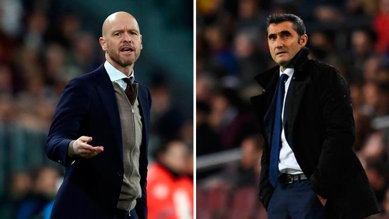 El triplete 2018-19 sería un mano a mano: Si lo hay, será del Barça o del Ajax