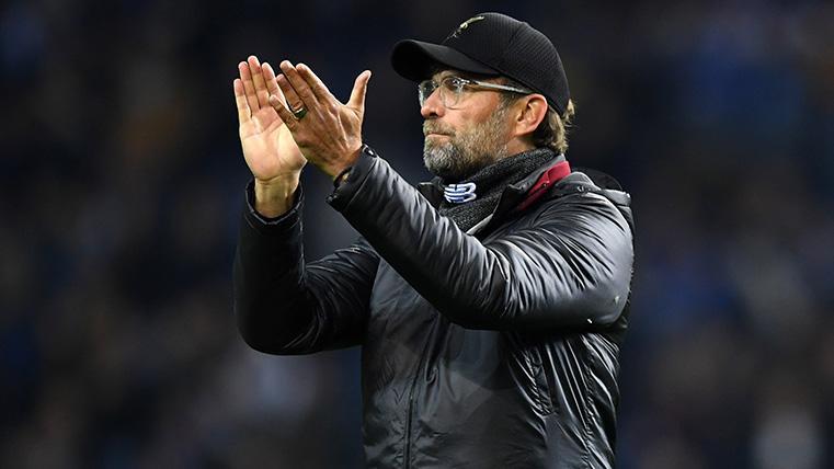 Klopp nunca ha perdido una eliminatoria europea desde que entrena al Liverpool