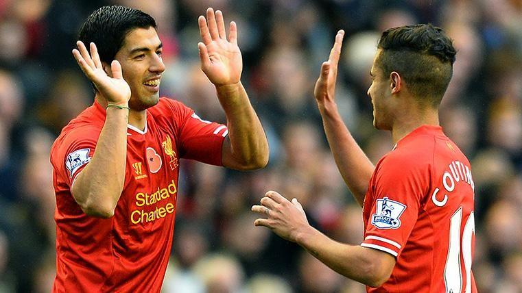 Liverpool-Barcelona, el partido más especial para Coutinho y Luis Suárez