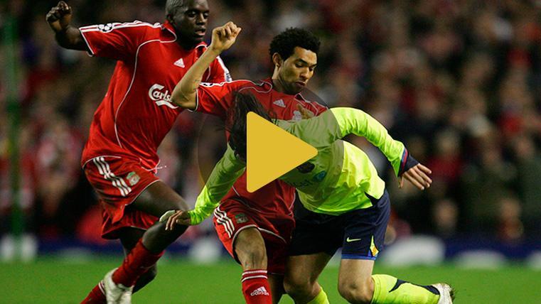 Los tres precedentes Barça-Liverpool de Champions, favorables a los 'reds'