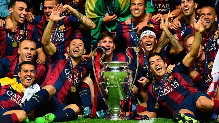 43ed79f81b4d9 El Barça domina en Europa  único club en todas las  semis  de Champions de  la UEFA