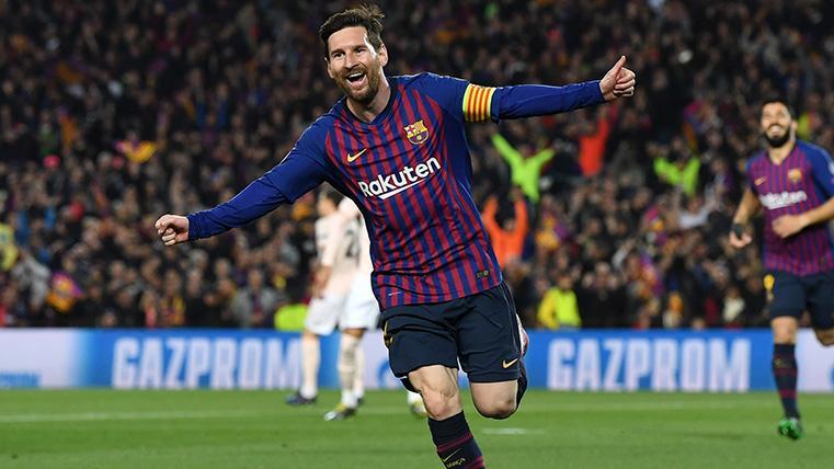 Messi supera a De Ligt y es elegido el mejor jugador de la semana en Champions