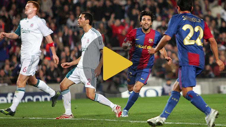 HEMEROTECA: Los mejores goles del FC Barcelona al Liverpool en la Copa de Europa