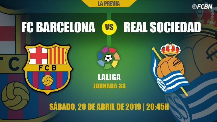 El Barcelona inicia su sentencia de la Liga ante la Real Sociedad