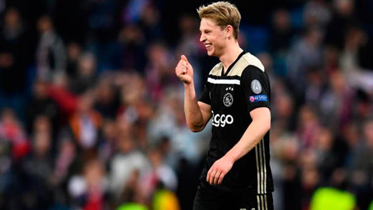 """Frenkie de Jong, al margen del fichaje de De Ligt: """"No voy a interferir en su decisión"""""""