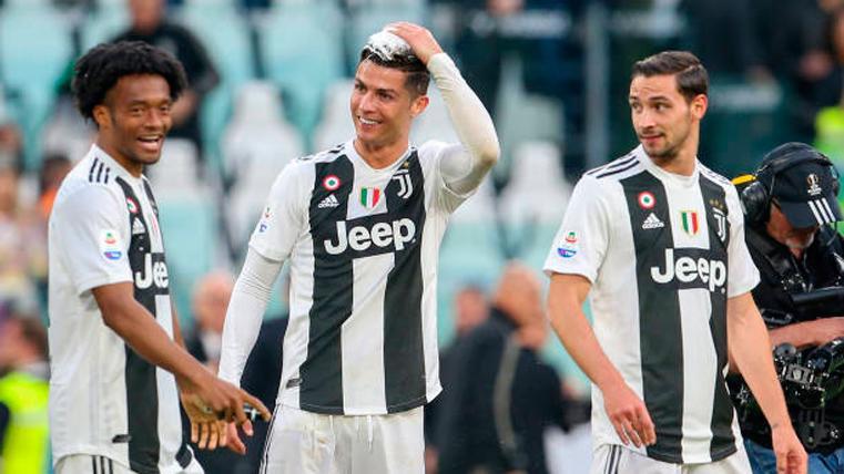 Cristiano Ronaldo consigue su primer 'Scudetto' con la Juventus