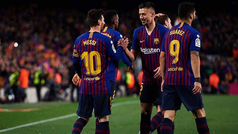 Lenglet desatascó el Barça-Real Sociedad con un remate perfecto