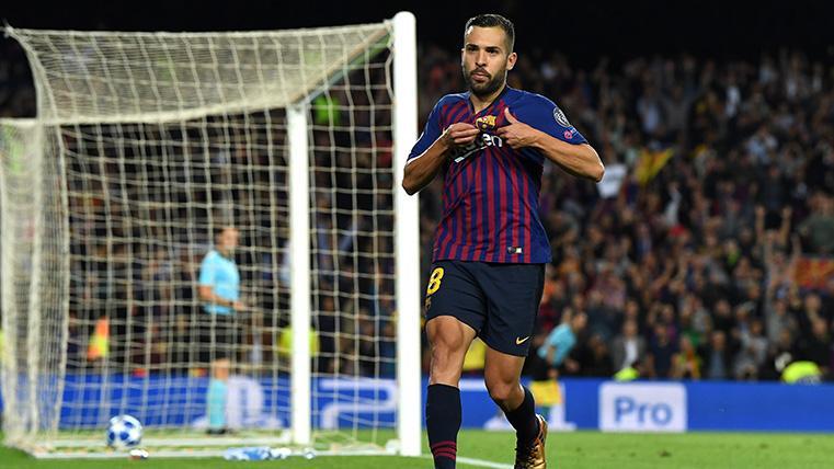 Golazo de Jordi Alba para volver a poner por delante al Barça (con intriga del VAR)