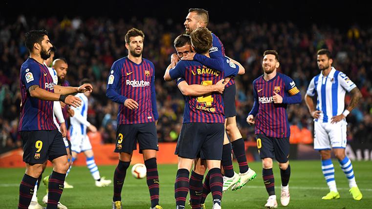 Las quinielas del FC Barcelona para ganar LaLiga antes de mayo