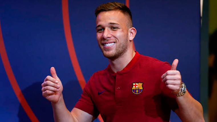 Arthur Melo desvela por qué decidió fichar por el Barcelona
