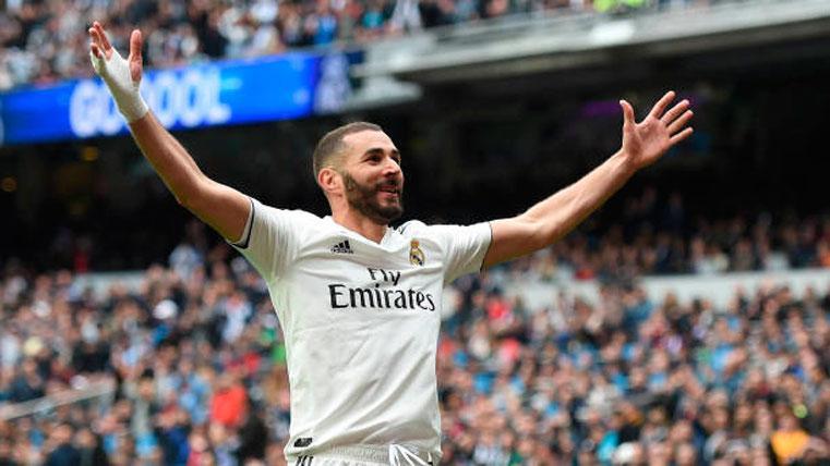 El Real Madrid golea al Athletic con 'hat-trick' de Benzema (3-0)
