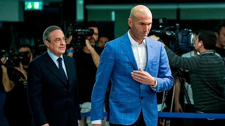La petición de Zidane que provocaría un problema en el Real Madrid