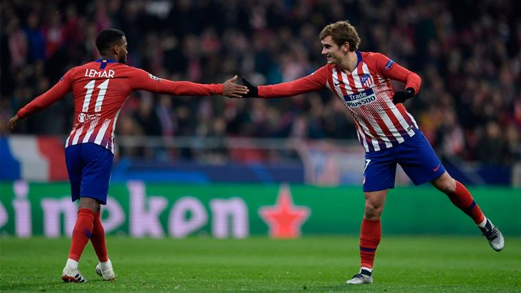 Lemar no quiere 'mojarse' sobre la continuidad de Griezmann en el Atlético