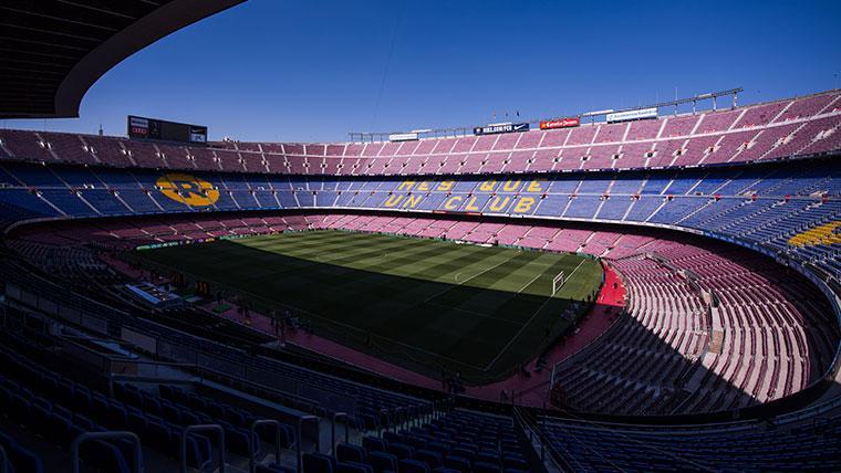 El Barça recibe el visto bueno para iniciar la urbanización del entorno del Camp Nou