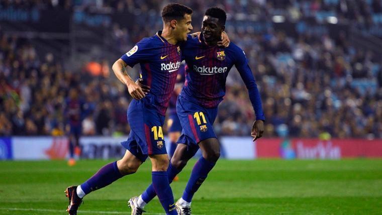¿Dembélé o Coutinho? Juegue quien juegue, el Barça puede salir ganando
