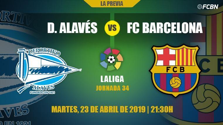 Nuevo asalto del Barcelona para sentenciar LaLiga contra el Alavés