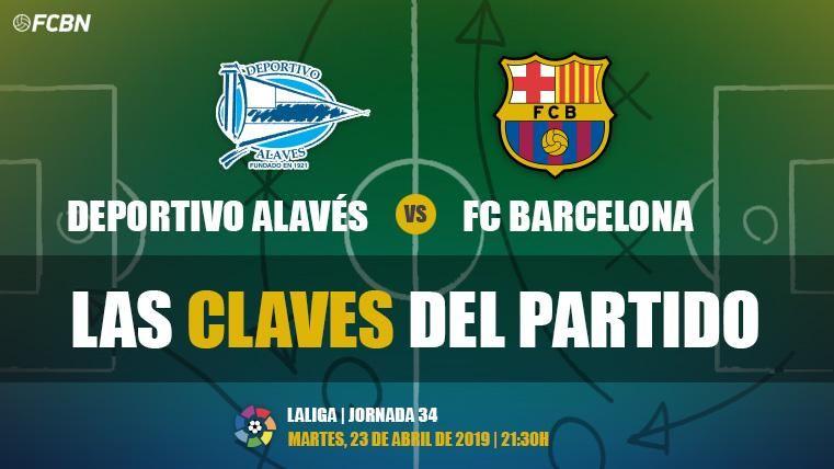 Las claves del Alavés-FC Barcelona de LaLiga 2018-19