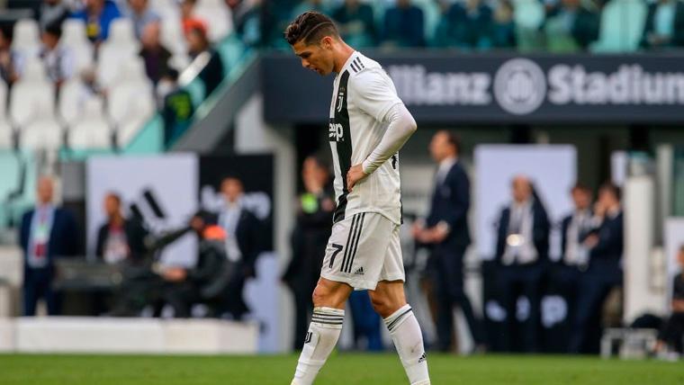 El sonrojante récord negativo de Cristiano Ronaldo con la Juventus