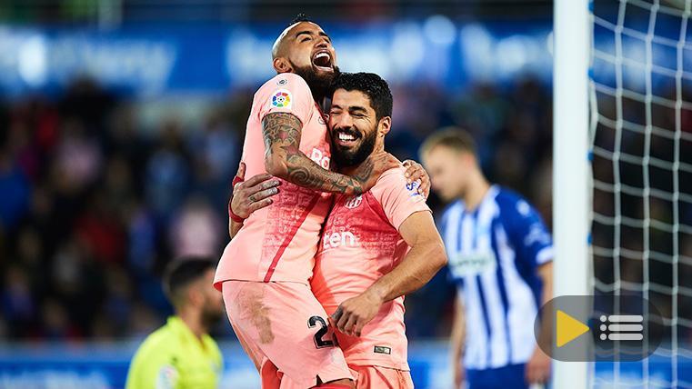 Vídeo resumen: Deportivo Alavés 0 FC Barcelona 2 (LaLiga J34)