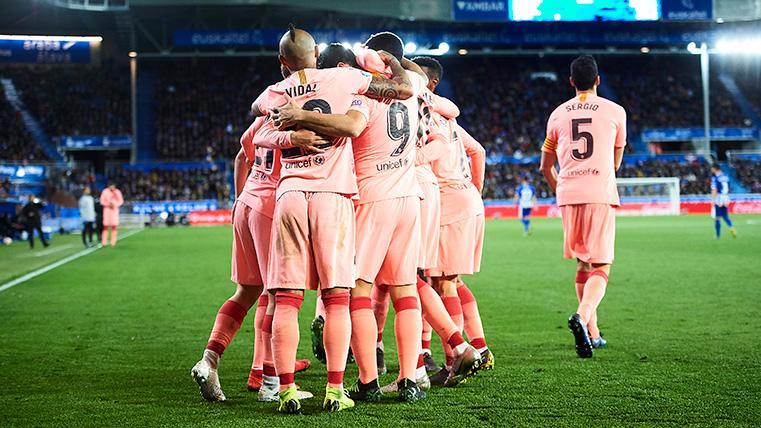 Primer Match Ball El Barcelona Sera Campeon De Liga Si El Atletico Pierde Este Miercoles