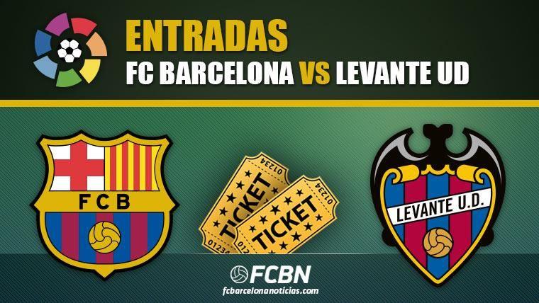 Entradas FC Barcelona vs Levante - LaLiga Santander 2018-19