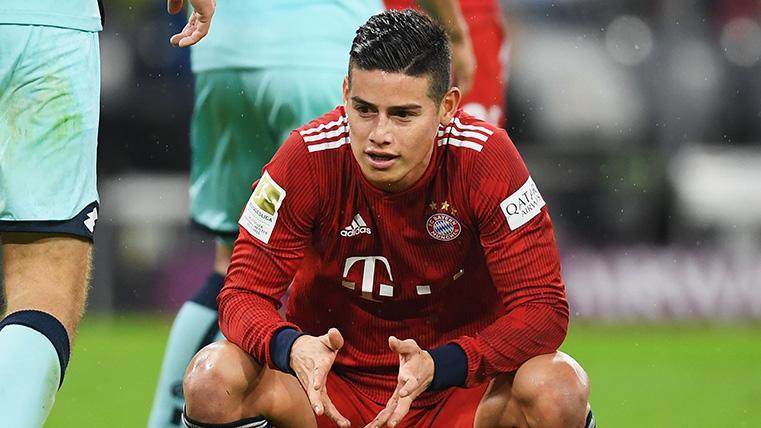 James Rodríguez no quiere seguir en el Bayern y el divorcio entre ambas partes es total