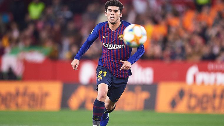 Carles Aleñá pide paso en el centro del campo del Barcelona