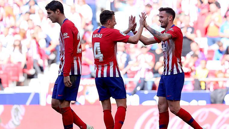 El Atlético de Madrid sufrió contra el Valladolid, pero retrasó el alirón del Barça (1-0)
