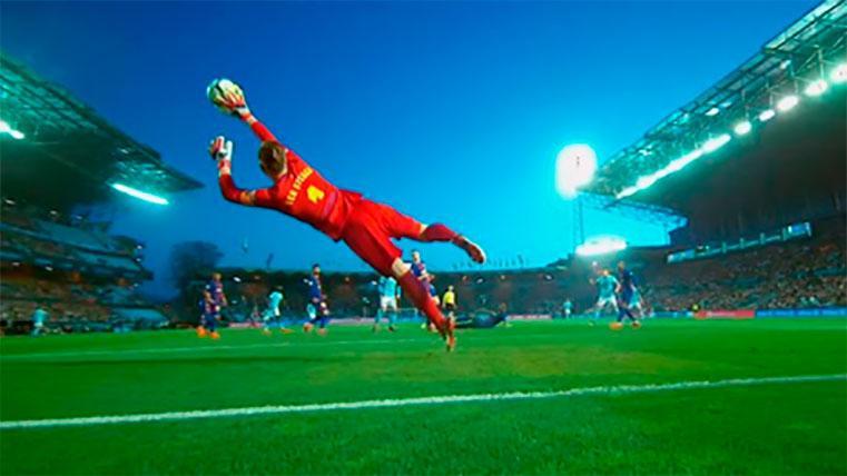 Ter Stegen: el héroe sin capa de la 26ª Liga del Barcelona