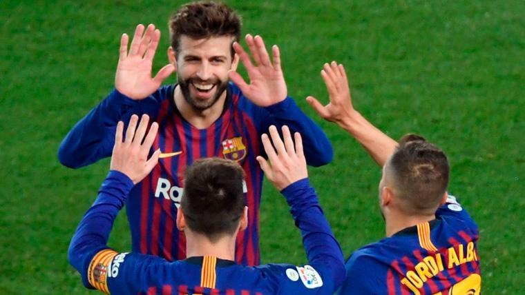 Los siete pilares del Barça en una Liga no sólo dominada por Messi