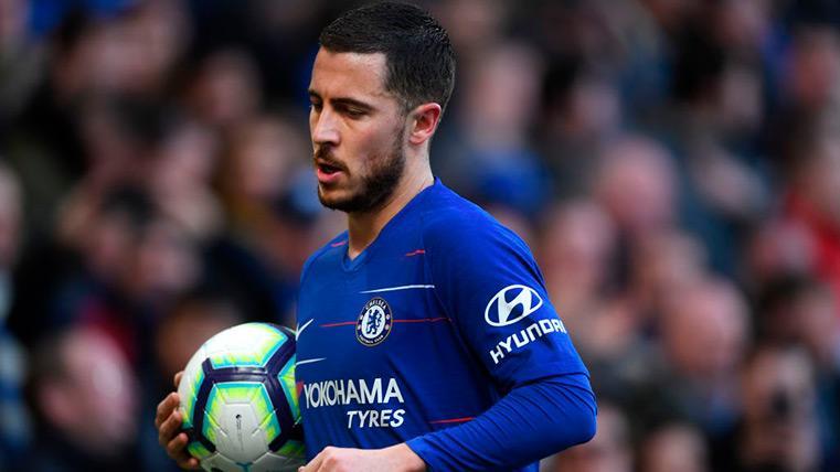 La clasificación del Chelsea para la Champions podría ser clave en el futuro de Hazard