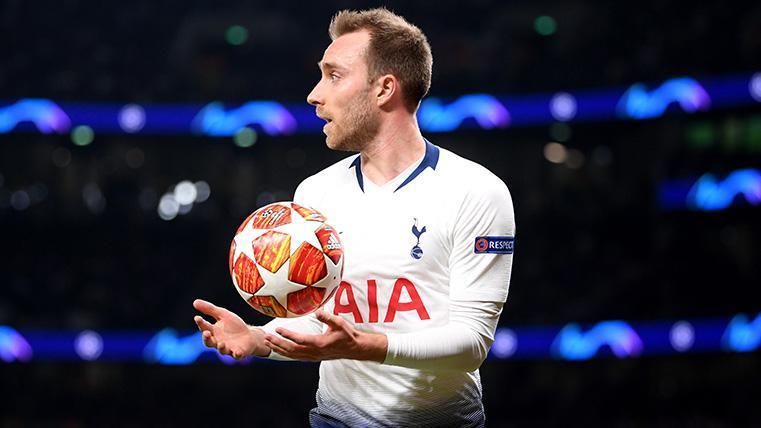 El Real Madrid ya tiene un acuerdo con Eriksen y está negociando con el Tottenham
