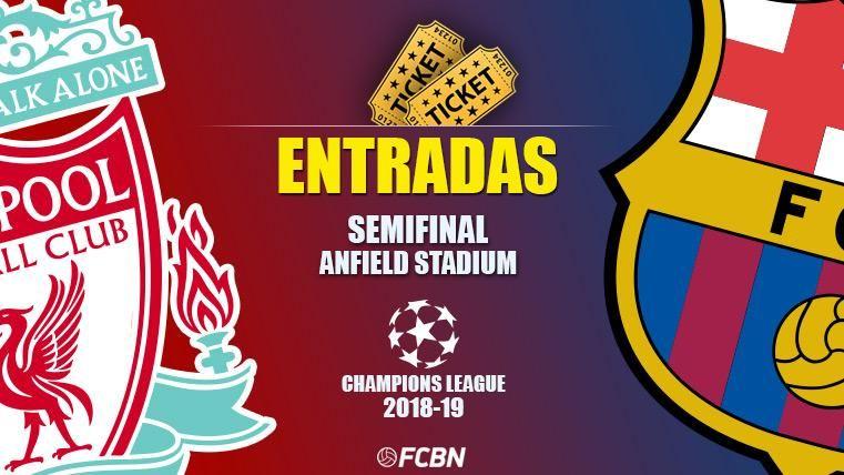 Entradas Liverpool vs FC Barcelona - Champions League 2018-2019